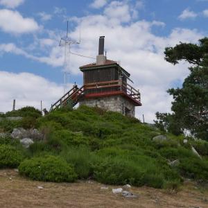 Climbing to the Mojon Alto